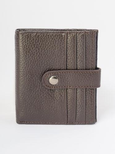 Кошелек кожа флоттер, цвет темно-коричневый, арт. 16109639  - цена 690 руб.  - магазин TOTOGROUP