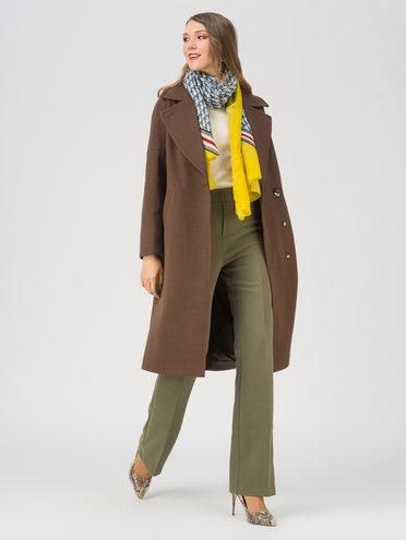 Текстильное пальто , цвет темно-коричневый, арт. 16711430  - цена 7990 руб.  - магазин TOTOGROUP