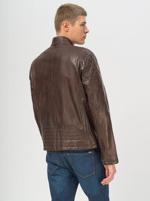 Кожаная куртка артикул 16809211/50 - фото 3