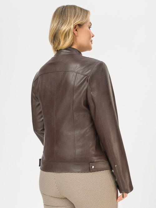 Кожаная куртка артикул 16810216/46 - фото 3