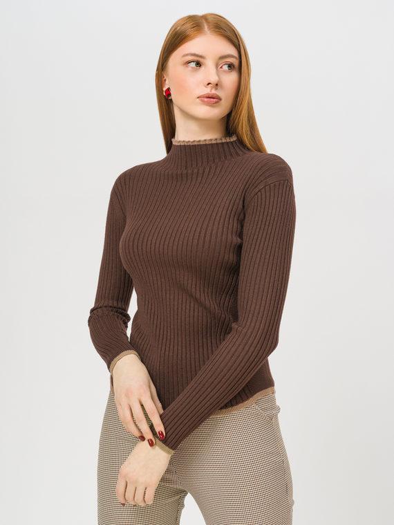 Джемпер , цвет темно-коричневый, арт. 16810401  - цена 990 руб.  - магазин TOTOGROUP