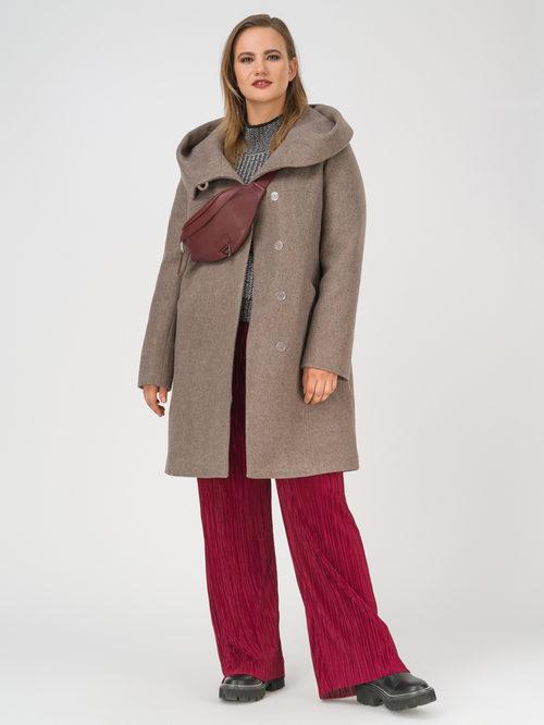 Текстильное пальто артикул 16810666/50 - фото 2