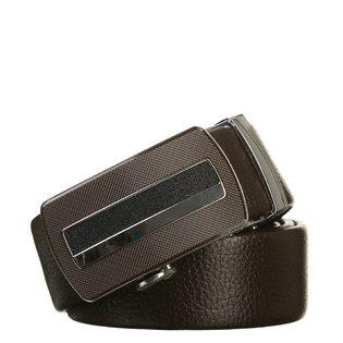 Ремень кожа теленок, цвет темно-коричневый, арт. 16903231  - цена 1490 руб.  - магазин TOTOGROUP
