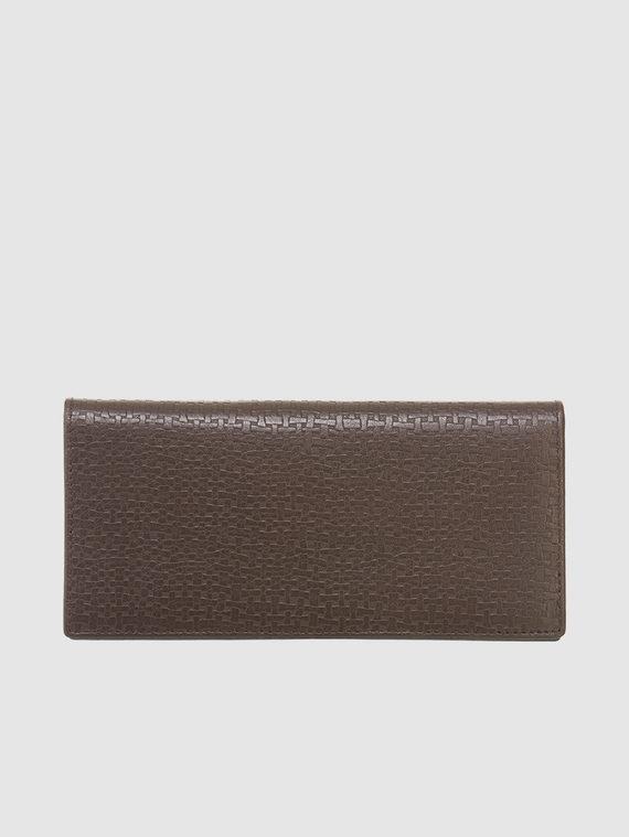 Кошелек кожа флоттер, цвет темно-коричневый, арт. 16903371  - цена 1130 руб.  - магазин TOTOGROUP