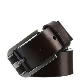 Ремень кожа теленок, цвет темно-коричневый, арт. 16903536  - цена 1660 руб.  - магазин TOTOGROUP