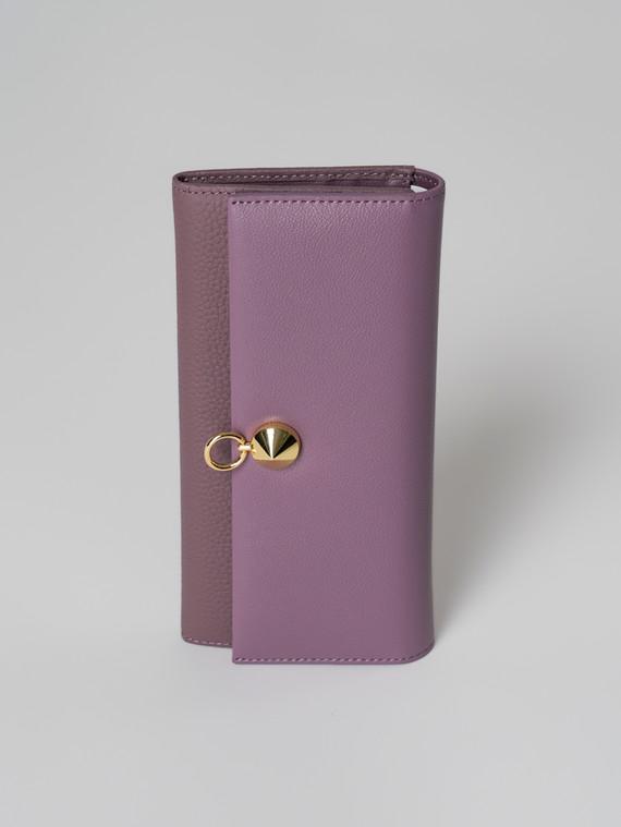 Кошелек кожа флоттер, цвет фиолетовый, арт. 17006037  - цена 1950 руб.  - магазин TOTOGROUP