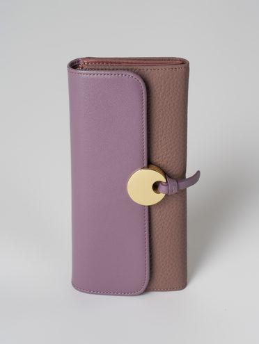 Кошелек кожа флоттер, цвет фиолетовый, арт. 17006039  - цена 1950 руб.  - магазин TOTOGROUP