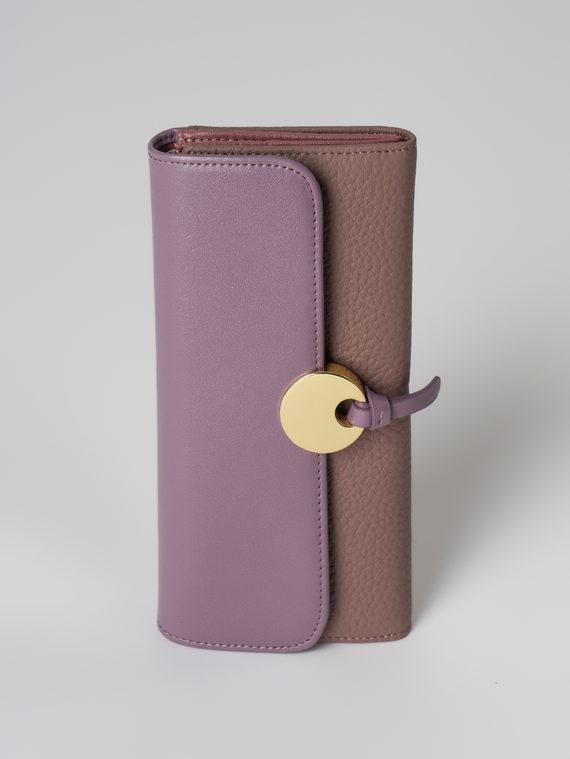 Кошелек кожа флоттер, цвет фиолетовый, арт. 17006039  - цена 2290 руб.  - магазин TOTOGROUP