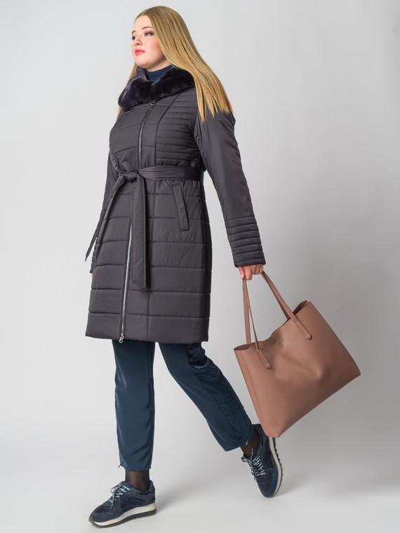 Пуховик текстиль, цвет фиолетовый, арт. 17006463  - цена 14990 руб.  - магазин TOTOGROUP