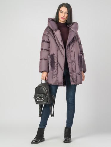 Пуховик текстиль, цвет фиолетовый, арт. 17006618  - цена 7990 руб.  - магазин TOTOGROUP