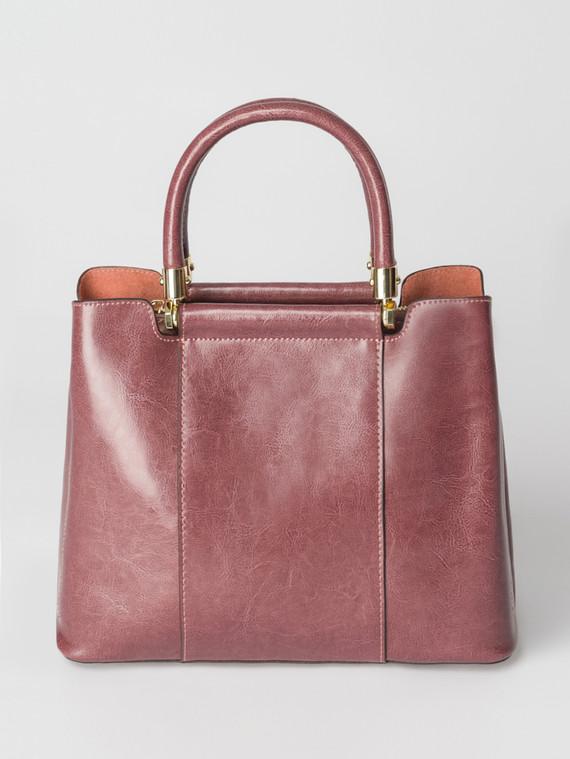 Сумка кожа теленок, цвет фиолетовый, арт. 17007377  - цена 5890 руб.  - магазин TOTOGROUP