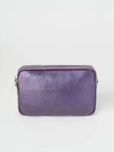 Сумка кожа теленок, цвет фиолетовый, арт. 17107885  - цена 3790 руб.  - магазин TOTOGROUP