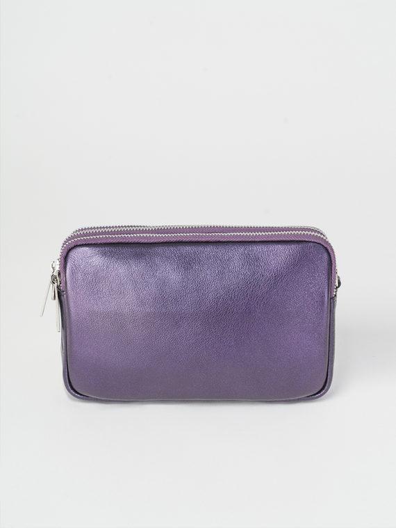 Сумка кожа теленок, цвет фиолетовый, арт. 17107885  - цена 3590 руб.  - магазин TOTOGROUP