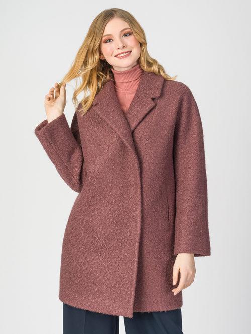 Текстильное пальто артикул 17107903/44 - фото 2
