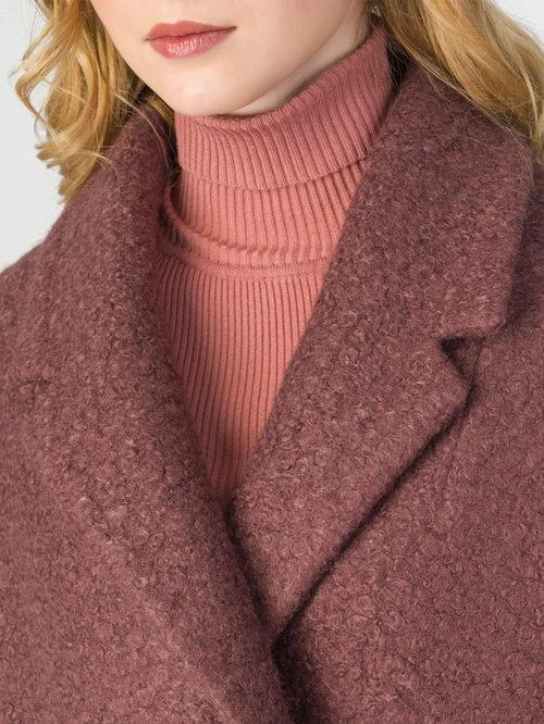 Текстильное пальто артикул 17107903/44 - фото 4