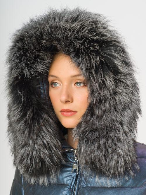 Кожаное пальто артикул 17109240/42 - фото 4