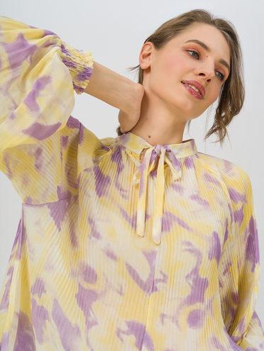 Блуза 80% хлопок, 20% п\э, цвет фиолетовый, арт. 17711704  - цена 1260 руб.  - магазин TOTOGROUP