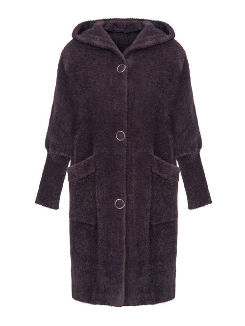 Текстильное пальто артикул 17810266/46