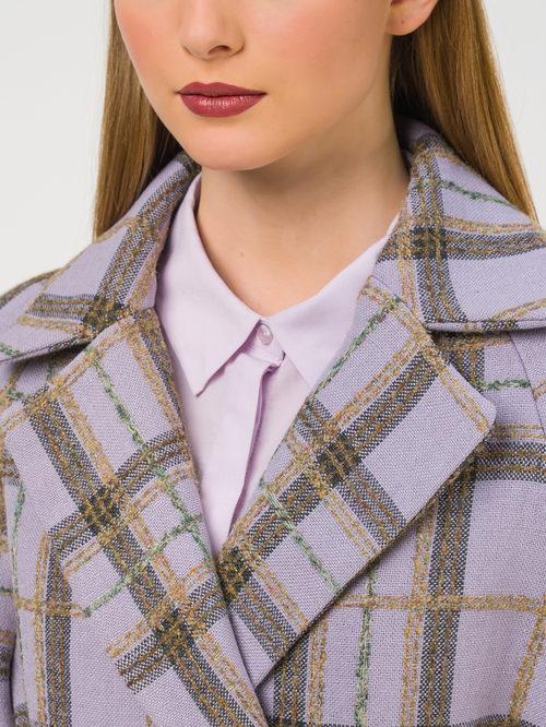 Текстильное пальто артикул 17810665/42 - фото 3