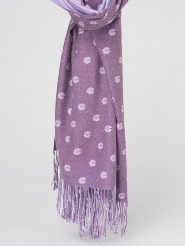 ШАРФ 70% кашемир 30% полиэстер, цвет фиолетовый, арт. 17811011  - цена 1330 руб.  - магазин TOTOGROUP