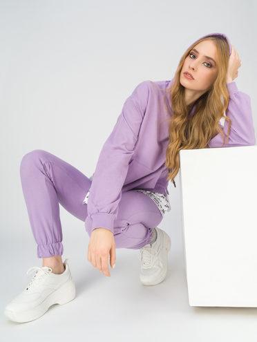 Трикотажный костюм 100% хлопок, цвет фиолетовый, арт. 17811254  - цена 2060 руб.  - магазин TOTOGROUP