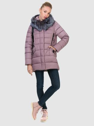 Пуховик текстиль, цвет фиолетовый, арт. 17900734  - цена 8990 руб.  - магазин TOTOGROUP