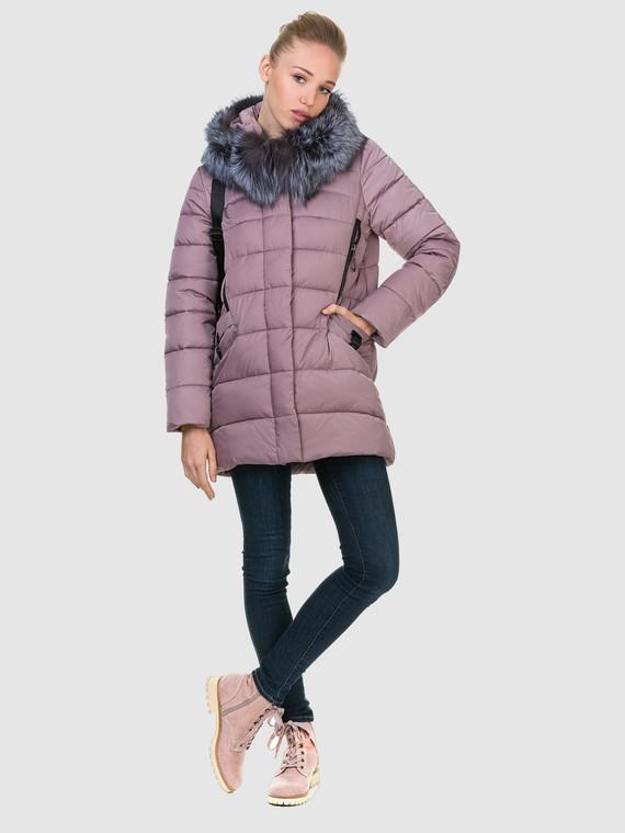 Пуховик текстиль, цвет фиолетовый, арт. 17900734  - цена 6990 руб.  - магазин TOTOGROUP
