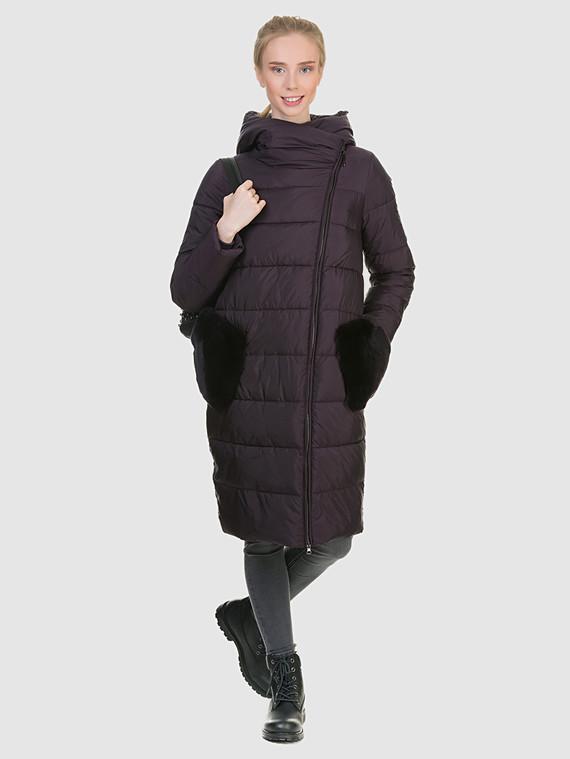Пуховик текстиль, цвет фиолетовый, арт. 17901069  - цена 8990 руб.  - магазин TOTOGROUP