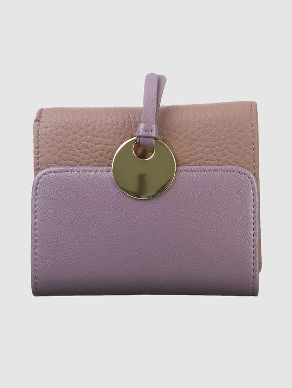 Кошелек кожа флоттер, цвет фиолетовый, арт. 17903313  - цена 1410 руб.  - магазин TOTOGROUP
