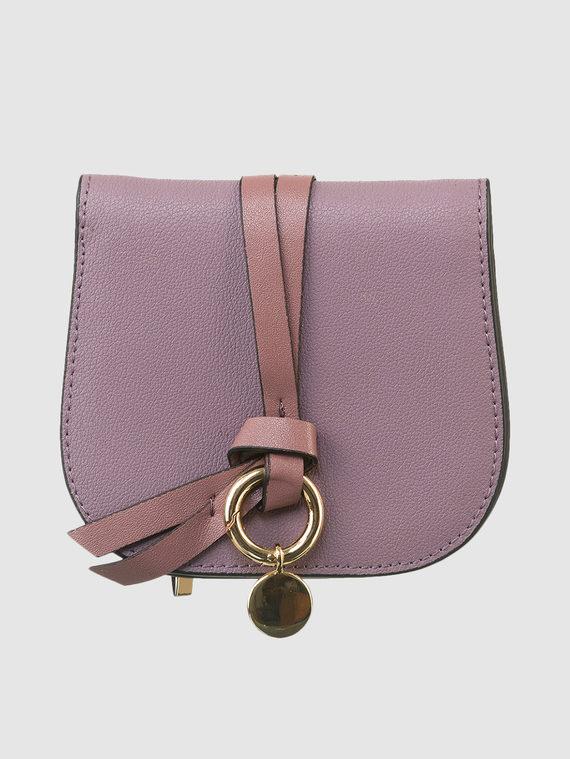 Кошелек кожа флоттер, цвет фиолетовый, арт. 17903317  - цена 1330 руб.  - магазин TOTOGROUP