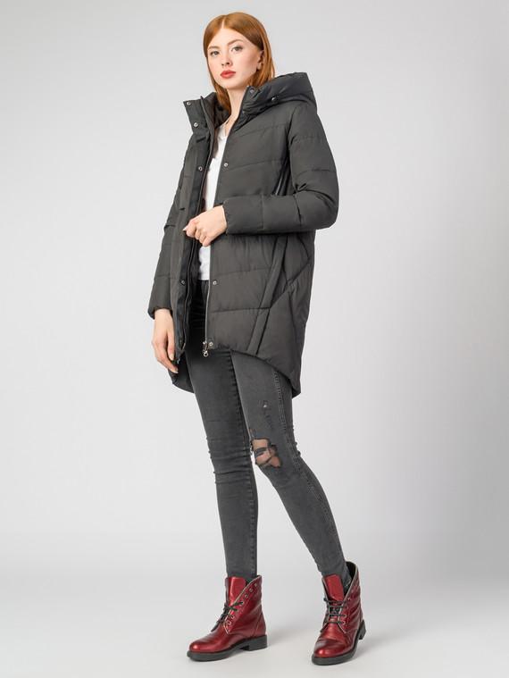 Пуховик текстиль, цвет черный, арт. 18000633  - цена 6990 руб.  - магазин TOTOGROUP