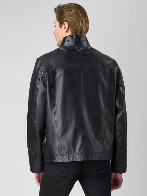 Кожаная куртка артикул 18003409/48 - фото 3