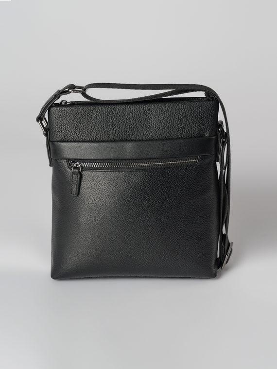 Сумка кожа флоттер, цвет черный, арт. 18003659  - цена 4740 руб.  - магазин TOTOGROUP