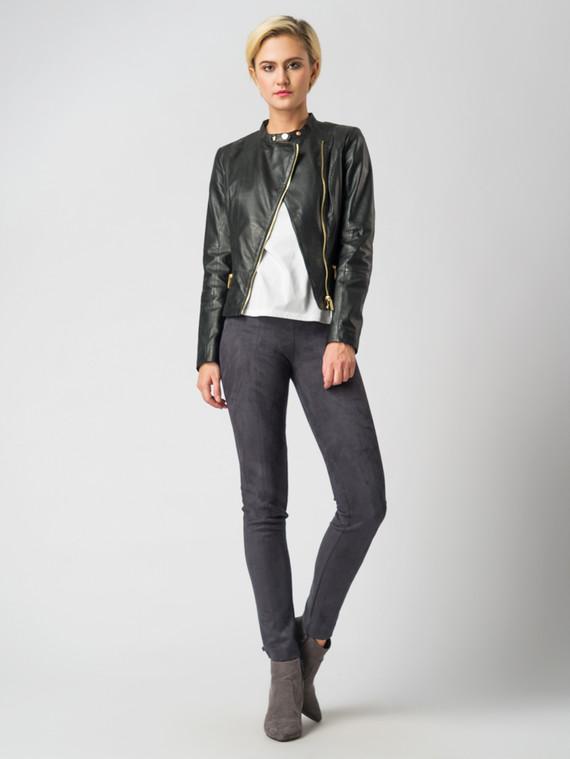 Кожаная куртка кожа , цвет черный, арт. 18005486  - цена 9990 руб.  - магазин TOTOGROUP