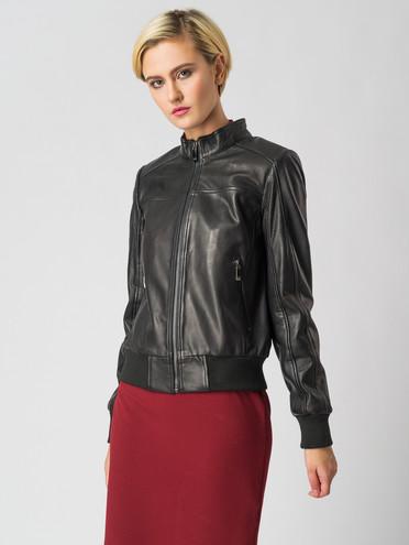 Кожаная куртка кожа , цвет черный, арт. 18005530  - цена 7490 руб.  - магазин TOTOGROUP