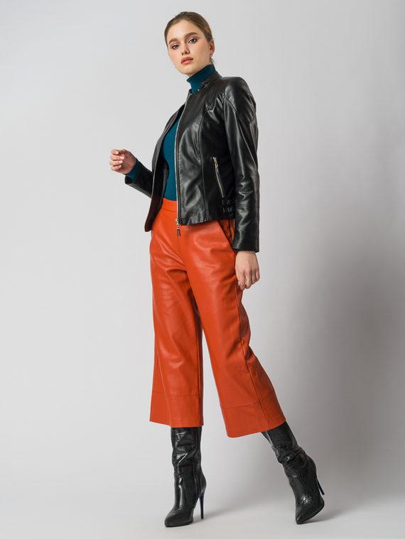 Кожаная куртка эко кожа 100% П/А, цвет черный, арт. 18005821  - цена 4490 руб.  - магазин TOTOGROUP
