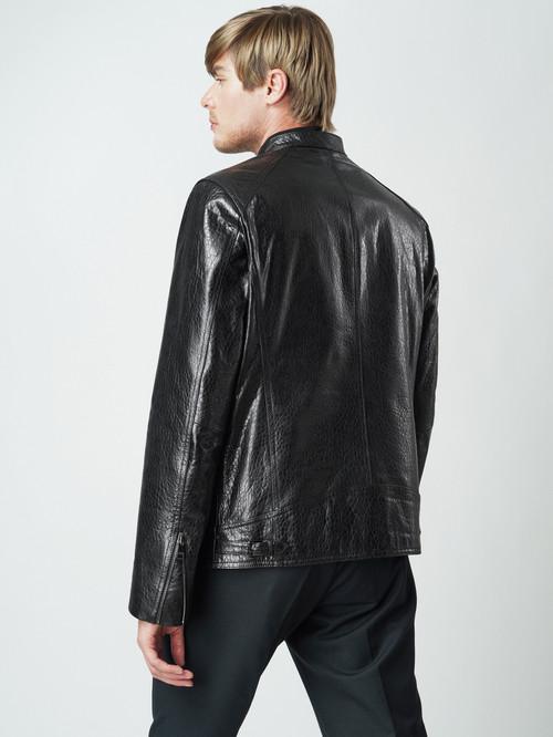 Кожаная куртка артикул 18005861/46 - фото 3