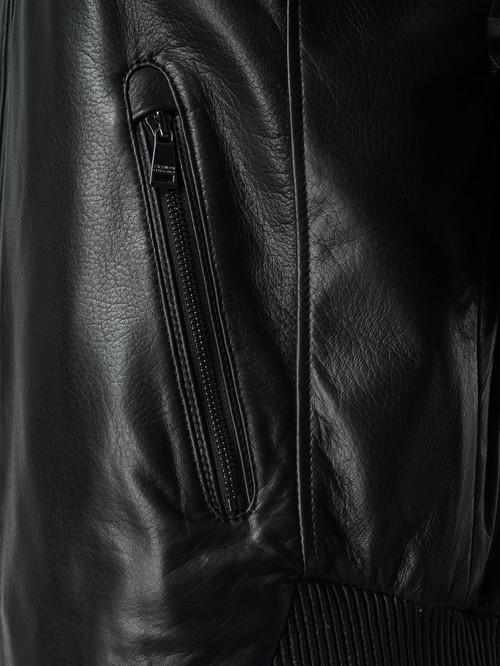Кожаная куртка артикул 18005866/46 - фото 4