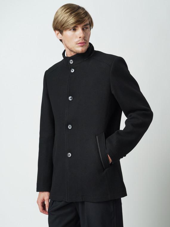 Текстильная куртка 51% п/э,49%шерсть, цвет черный, арт. 18005947  - цена 2990 руб.  - магазин TOTOGROUP