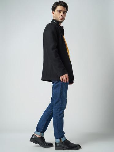 Текстильная куртка 51% п/э,49% шерсть, цвет черный, арт. 18005948  - цена 3790 руб.  - магазин TOTOGROUP