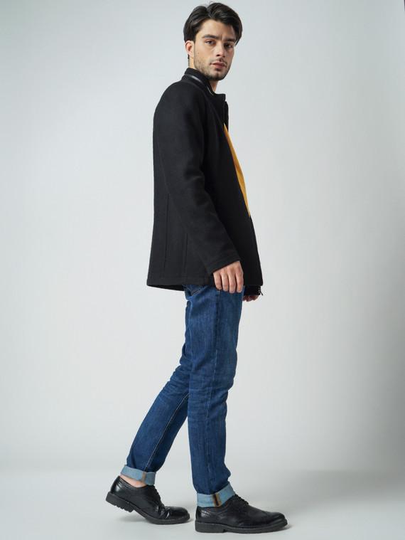 Текстильная куртка 51% п/э,49%шерсть, цвет черный, арт. 18005948  - цена 3590 руб.  - магазин TOTOGROUP