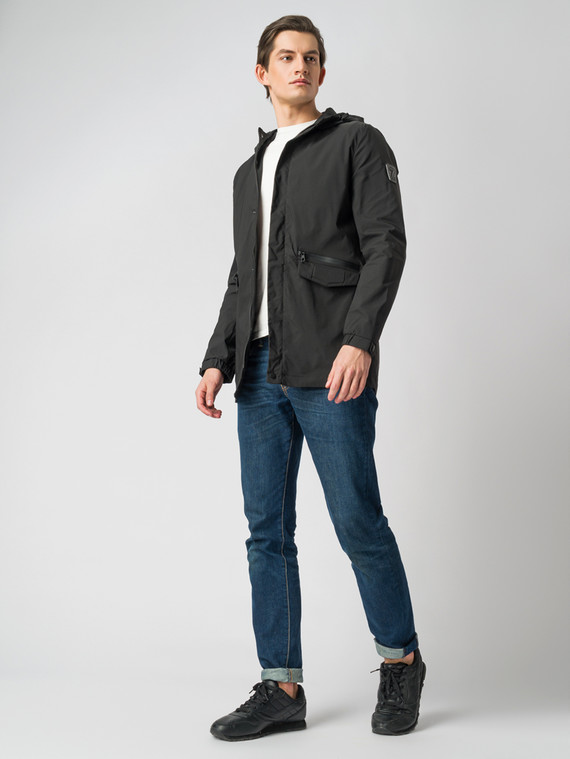 Ветровка текстиль, цвет черный, арт. 18005974  - цена 2990 руб.  - магазин TOTOGROUP