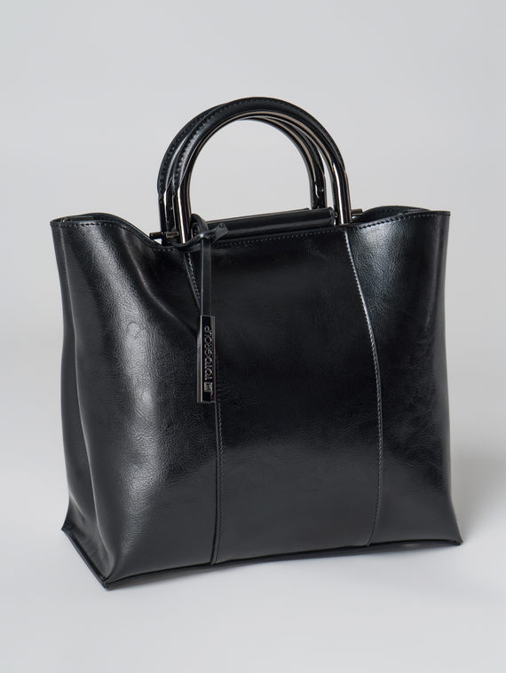 Сумка кожа теленок, цвет черный, арт. 18005996  - цена 4990 руб.  - магазин TOTOGROUP