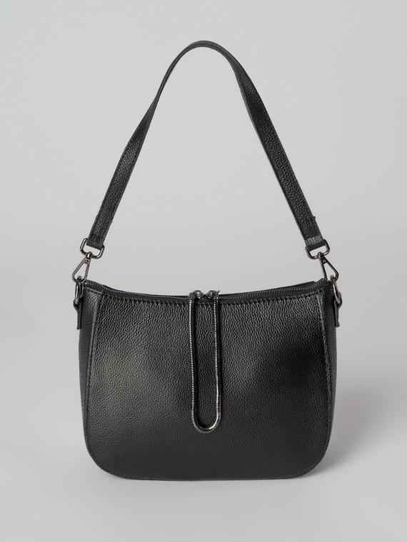 Сумка кожа флоттер, цвет черный, арт. 18006021  - цена 4260 руб.  - магазин TOTOGROUP