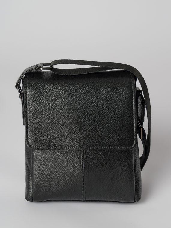 Сумка кожа флоттер, цвет черный, арт. 18006031  - цена 4490 руб.  - магазин TOTOGROUP