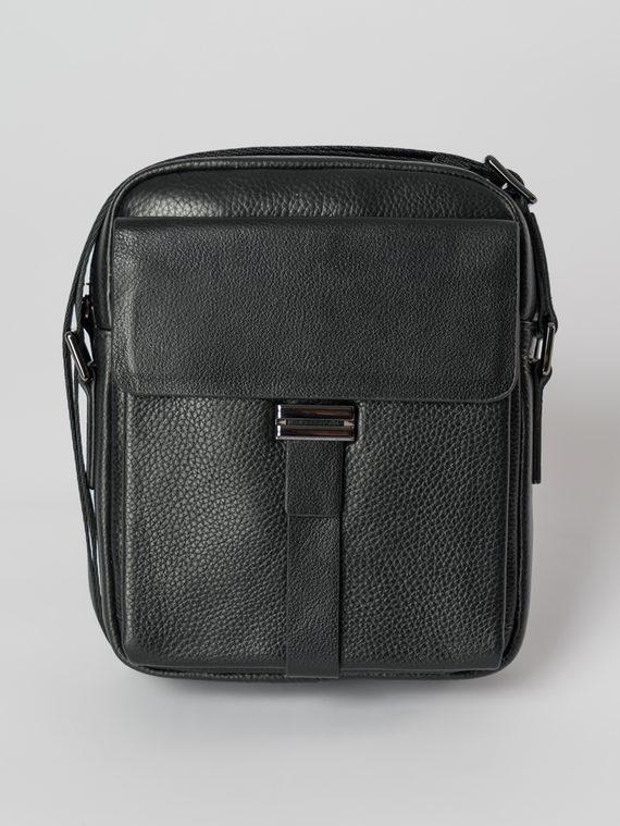 Сумка кожа флоттер, цвет черный, арт. 18006032  - цена 4490 руб.  - магазин TOTOGROUP
