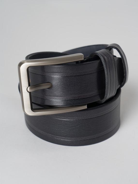 Ремень кожа корова, цвет черный, арт. 18006061  - цена 1410 руб.  - магазин TOTOGROUP