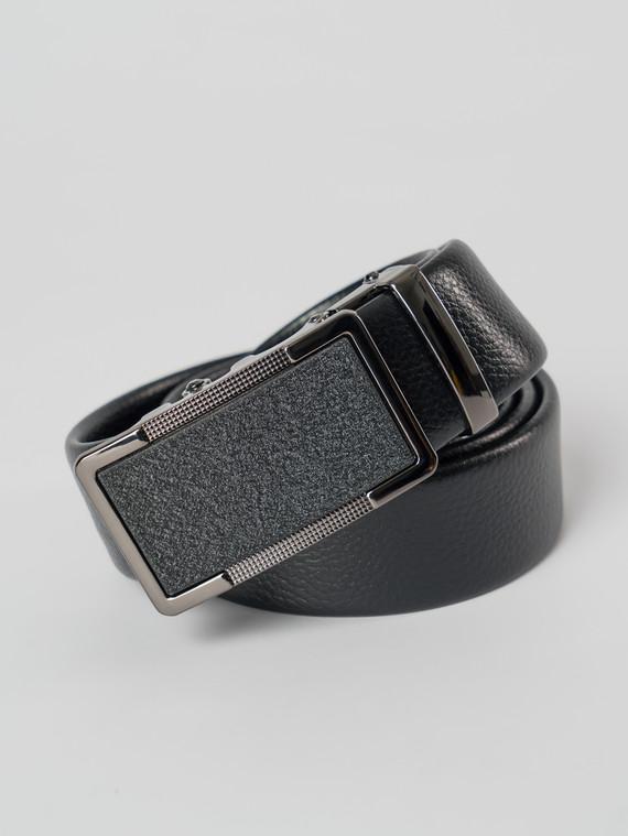 Ремень кожа корова, цвет черный, арт. 18006064  - цена 1070 руб.  - магазин TOTOGROUP
