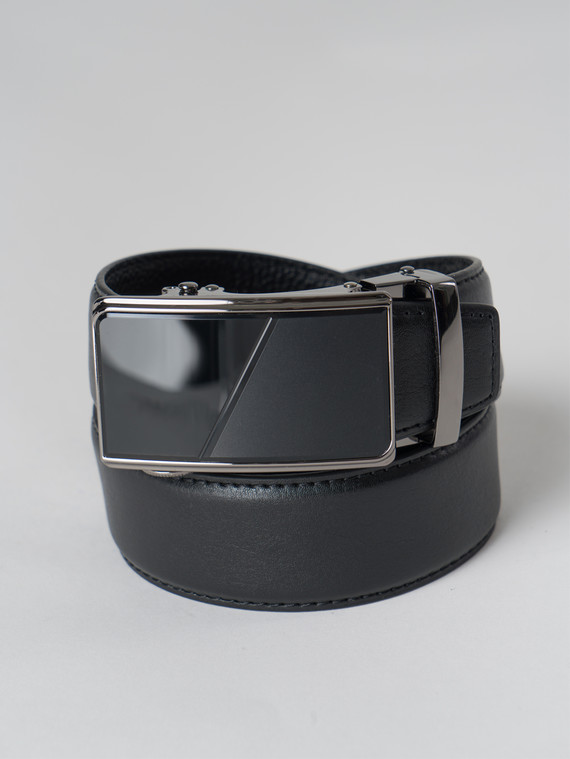 Ремень кожа корова, цвет черный, арт. 18006065  - цена 1410 руб.  - магазин TOTOGROUP