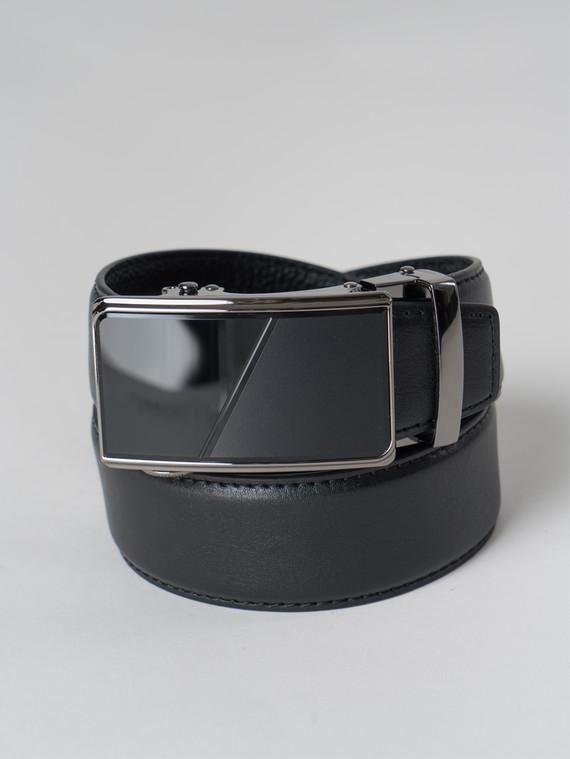 Ремень кожа корова, цвет черный, арт. 18006065  - цена 1260 руб.  - магазин TOTOGROUP